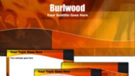 دانلود قالب پاورپوینت زیبای الوار چوب مناسب جهت طراحی پاورپوینت