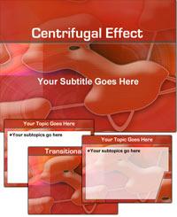 دانلود قالب پاورپوینت زیبای قرمز رنگ نیروی گریز از مرکز مناسب جهت طراحی پاورپوینت