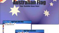 دانلود قالب پاورپوینت زیبای پرچم استرالیا مناسب جهت طراحی پاورپوینت