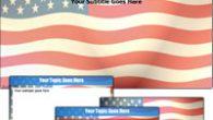 دانلود قالب پاورپوینت زیبای پرچم آمریکا شماره یک مناسب جهت طراحی پاورپوینت